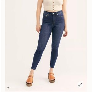 Mid Rise Free People Jeans